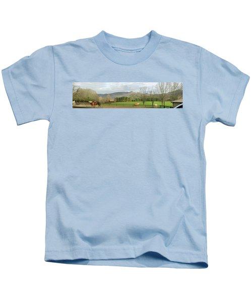 Behind The Dillard House Restaurant Kids T-Shirt