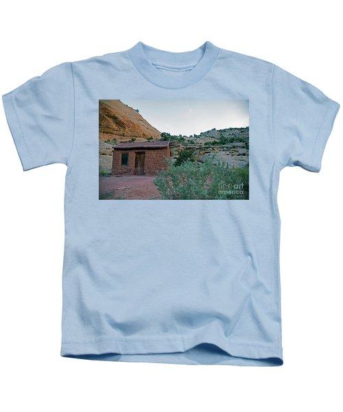 Behunin Cabin Capital Reef Kids T-Shirt