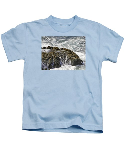 Below Salmon Creek Kids T-Shirt
