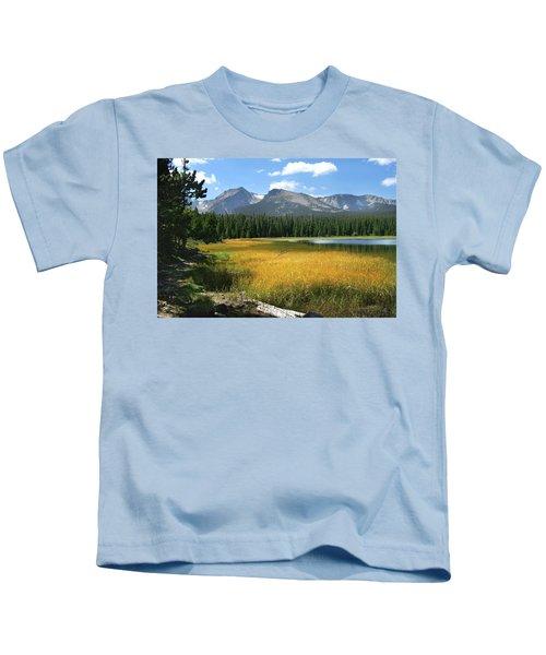 Autumn At Bierstadt Lake Kids T-Shirt