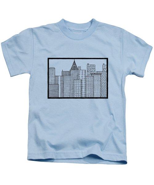 Big City Kids T-Shirt by Konstantin Sevostyanov