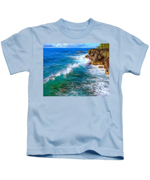 Big Sur Coastline Kids T-Shirt