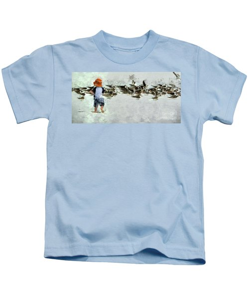 Bird Play Kids T-Shirt