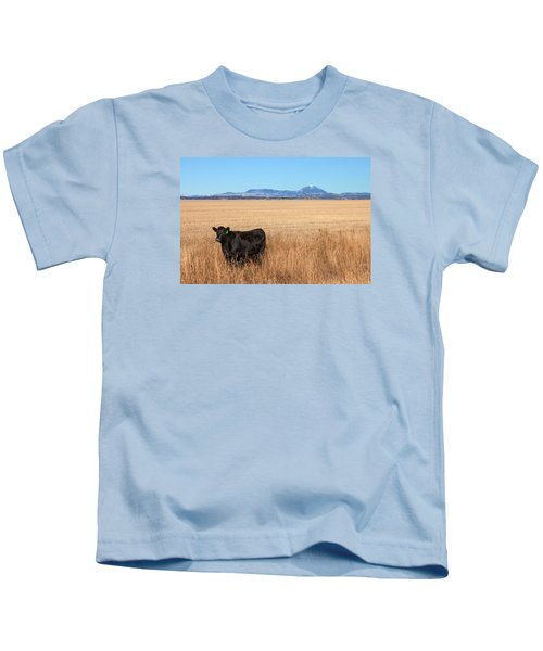 Black Angus Looking Kids T-Shirt