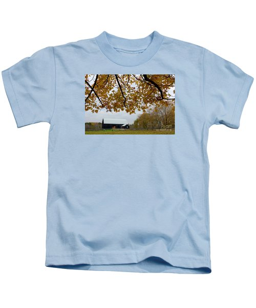 Black Barn Farm Kids T-Shirt