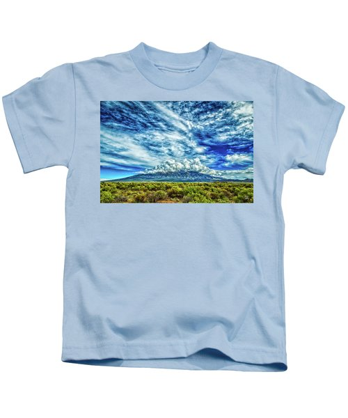 Blanca Peak Colorado Kids T-Shirt