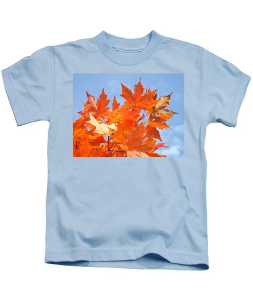 Blazing Maple Kids T-Shirt