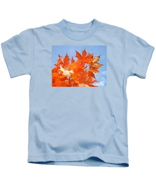 Blazing Maple Kids T-Shirt