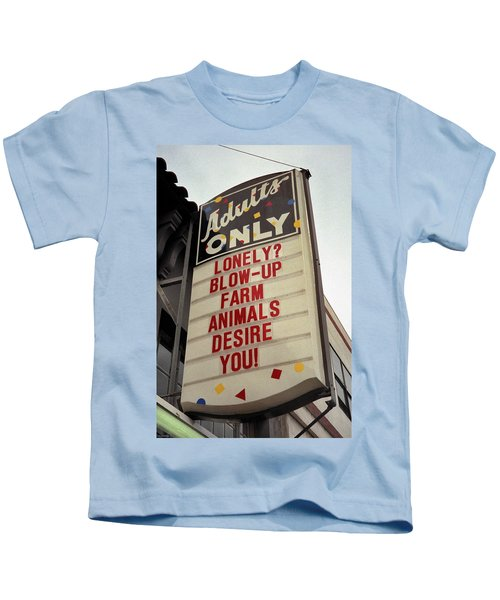 Blowup Farm Animals Sign Kids T-Shirt
