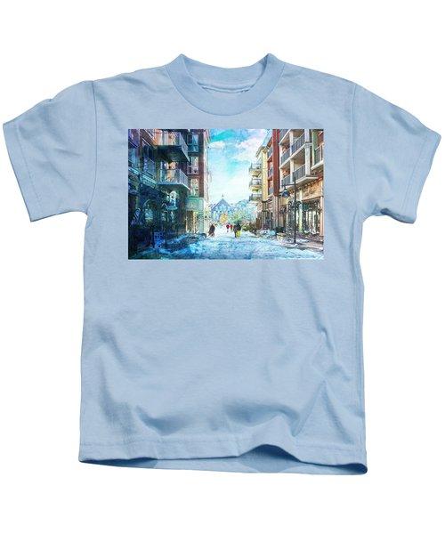 Blue Mountain Village, Ontario Kids T-Shirt