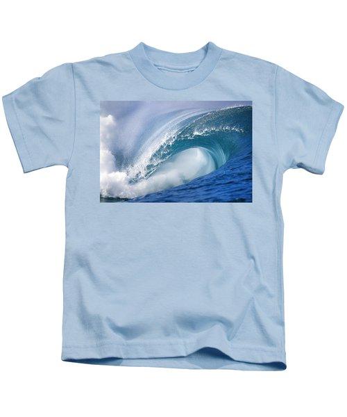Blue Rush Kids T-Shirt