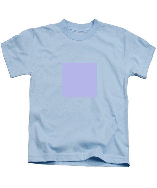 Blue Ultra Soft Lavender Colour Palette Kids T-Shirt