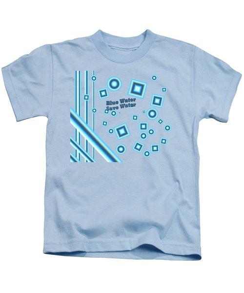 Blue Water Kids T-Shirt