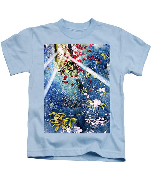 Blues And Berries Kids T-Shirt