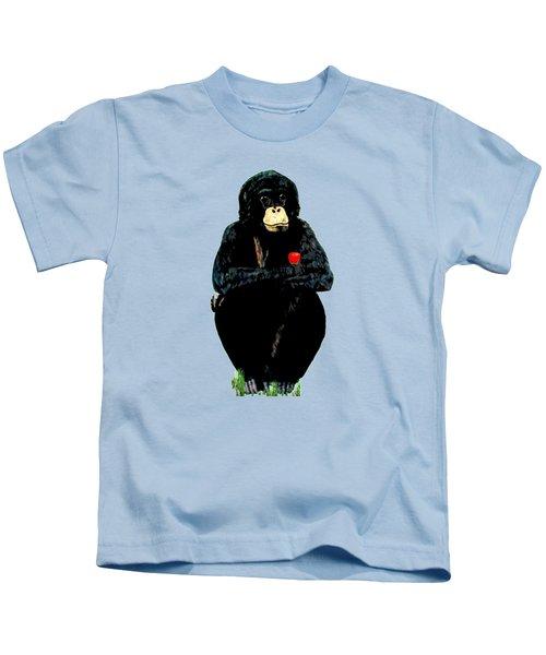 Bo Kids T-Shirt by Teresa  Peterson