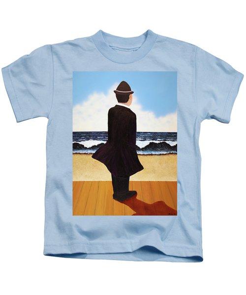 Boardwalk Man Kids T-Shirt