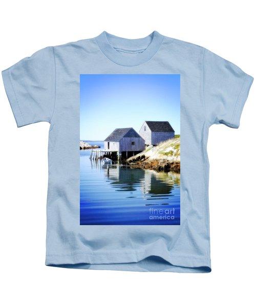 Boat Houses Kids T-Shirt