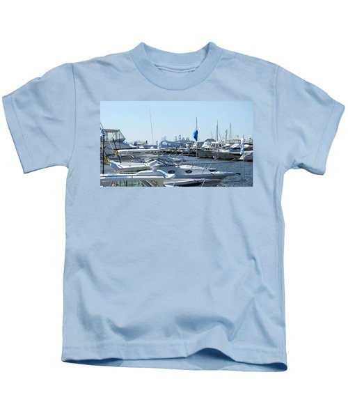 Boat Show On The Bay Kids T-Shirt