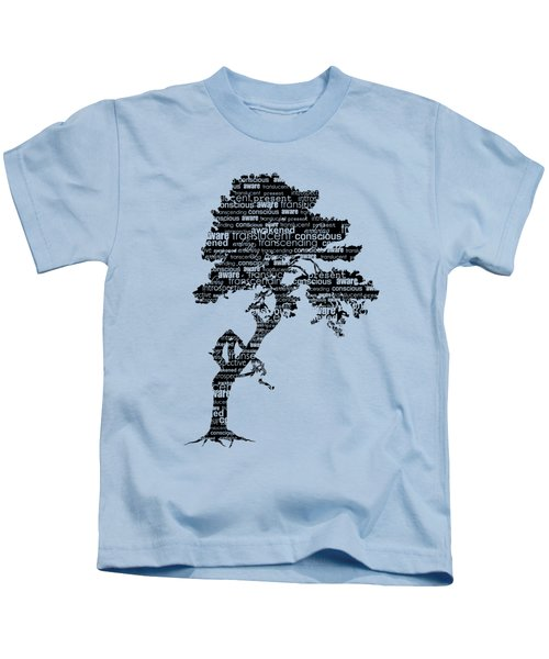Bodhi Tree Of Awareness Kids T-Shirt