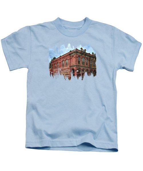 Boomtown Saloon Jacksonville Oregon Usa Kids T-Shirt