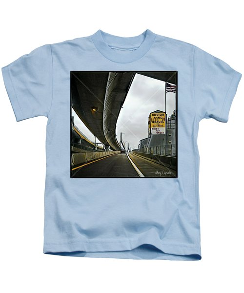 Boston Sand And Gravel  Kids T-Shirt