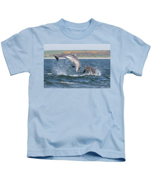 Bottlenose Dolphin - Moray Firth Scotland #49 Kids T-Shirt