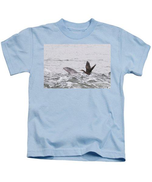 Baby Bottlenose Dolphin - Scotland #10 Kids T-Shirt