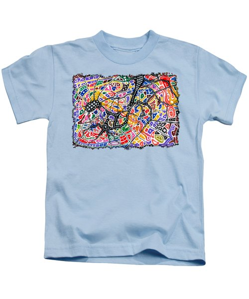 Brain Map Kids T-Shirt