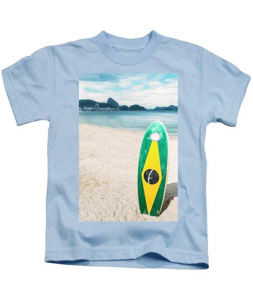 Brazilian Standup Paddle Kids T-Shirt