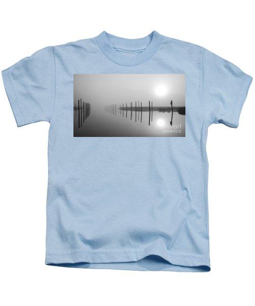 Breaking Through The Fog Kids T-Shirt