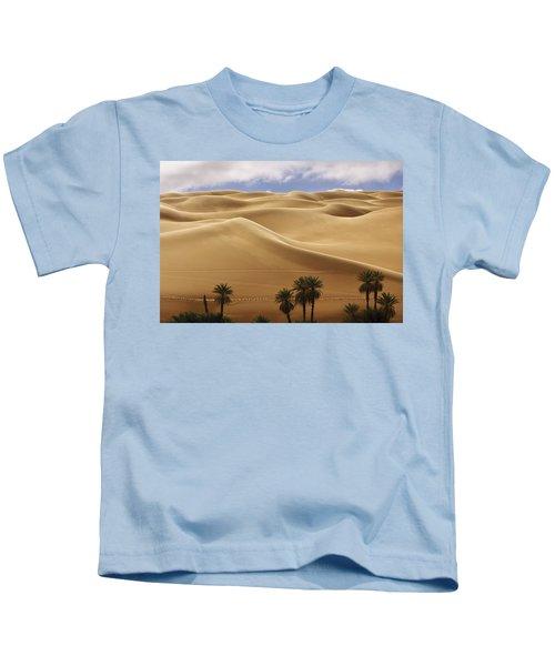 Breathtaking Sand Dunes Kids T-Shirt