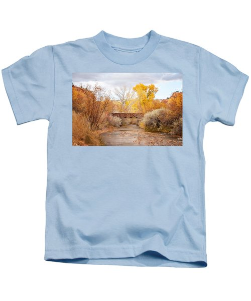 Bridge In Teasdale Kids T-Shirt