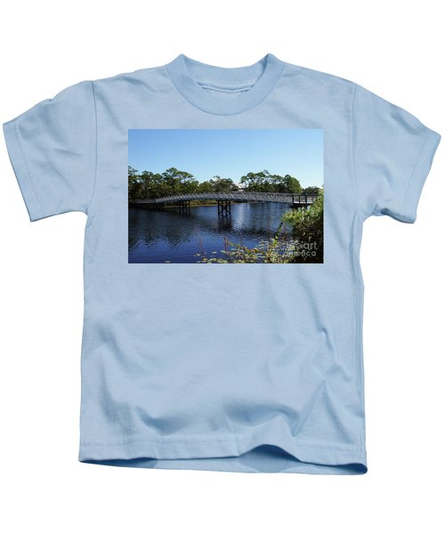 Western Lake Bridge Kids T-Shirt