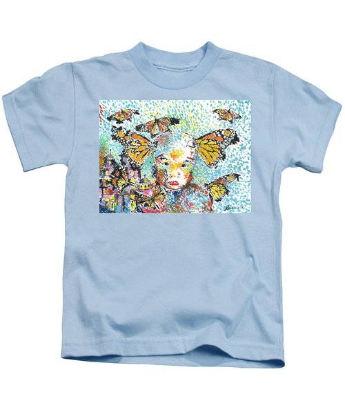 Bring Her Home Safely, Morelia- Sombra De Arreguin Kids T-Shirt