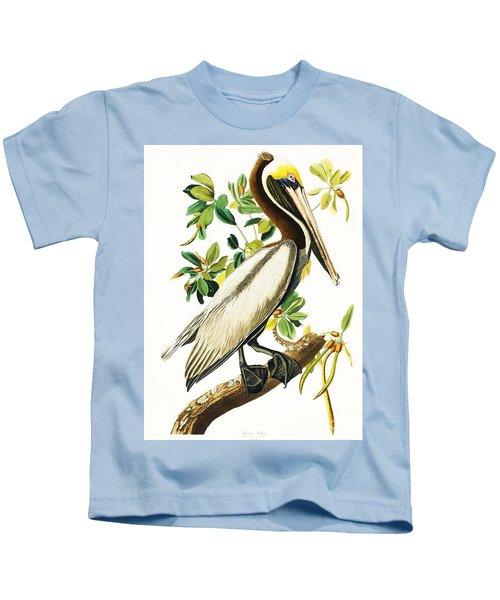Brown Pelican Kids T-Shirt