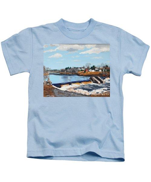 Brownville Village Dam Kids T-Shirt