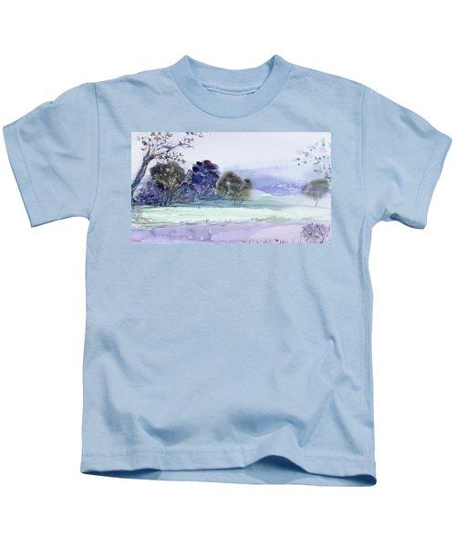 Bruny Island At Dusk Kids T-Shirt
