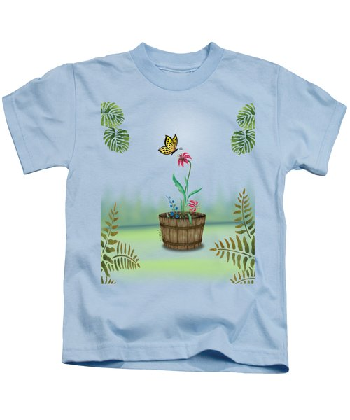 Bucket Butterfly 1 Kids T-Shirt