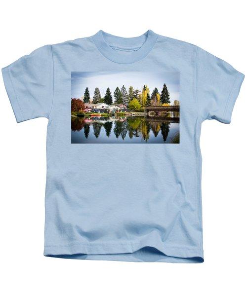 bungalows on the Deschutes Kids T-Shirt