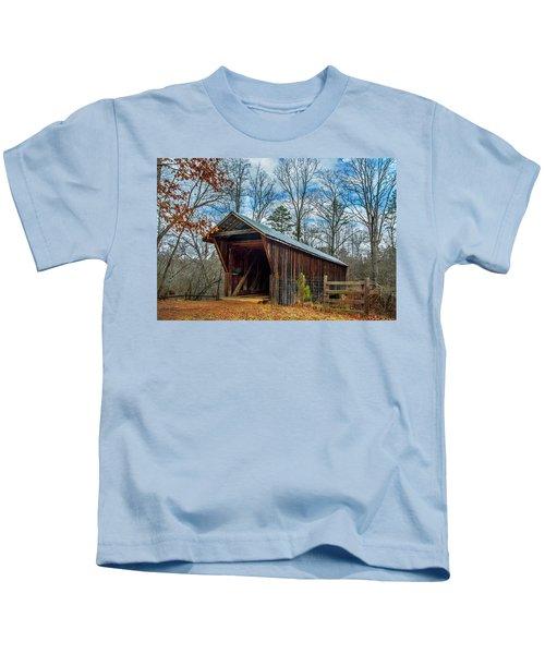Bunker Hill Cvered Bridge Kids T-Shirt