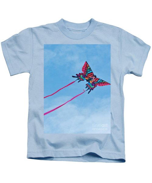 Butterfly Kite Kids T-Shirt