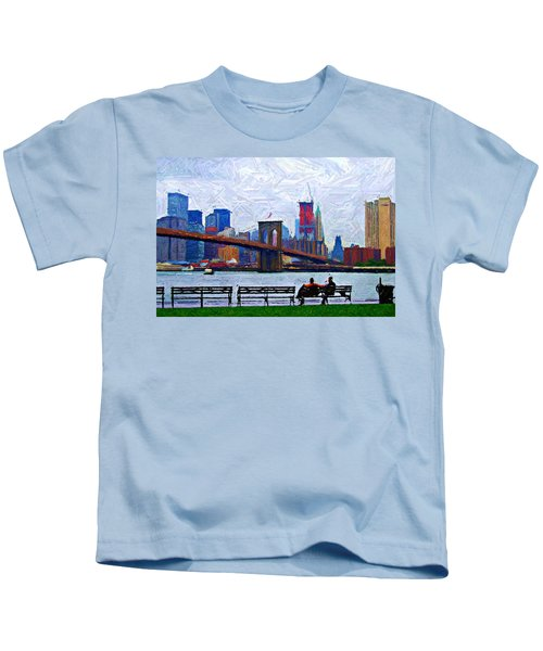 By The Water Too Sketch Kids T-Shirt