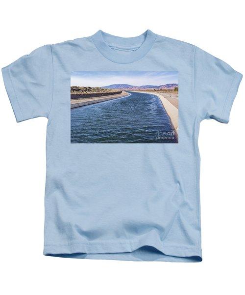 California Aqueduct S Curves Kids T-Shirt