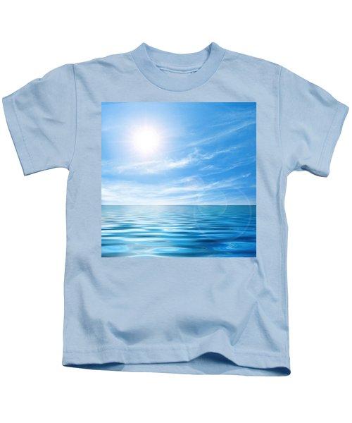 Calm Seascape Kids T-Shirt