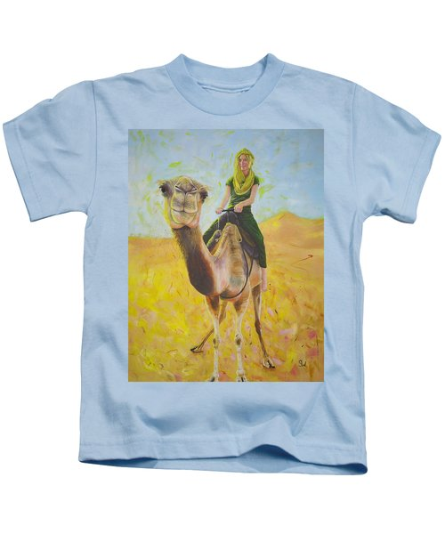 Camel At Work Kids T-Shirt