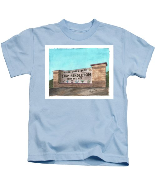 Camp Pendleton Welcome Kids T-Shirt
