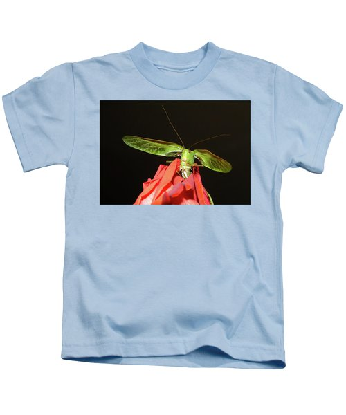 Can You Hear Me Now By Karen Wiles Kids T-Shirt