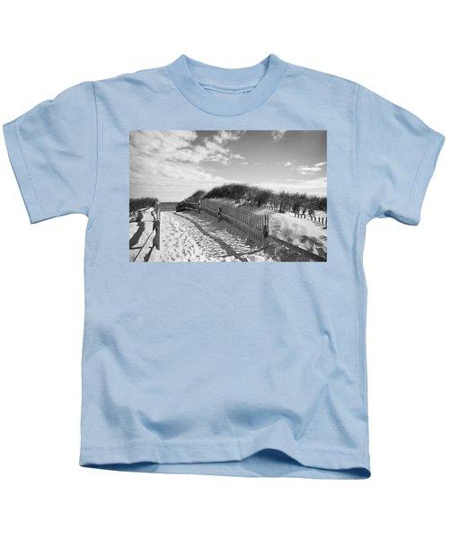 Cape Cod Beach Entry Kids T-Shirt
