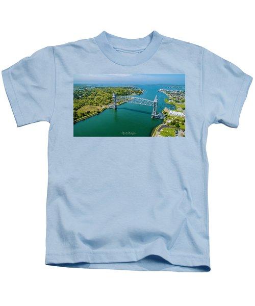 Cape Cod Canal Railroad Kids T-Shirt