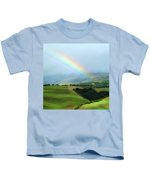 Carmel Valley Rainbow Kids T-Shirt